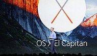 Apple, Yeni İşletim Sistemi OS X El Capitan'ı Tanıttı