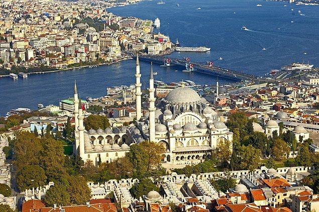 9. Süleymaniye Camii, İstanbul, Türkiye