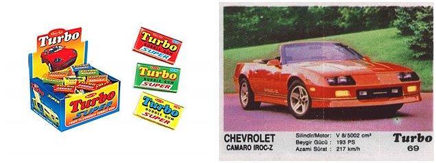 12. Turbo sakız