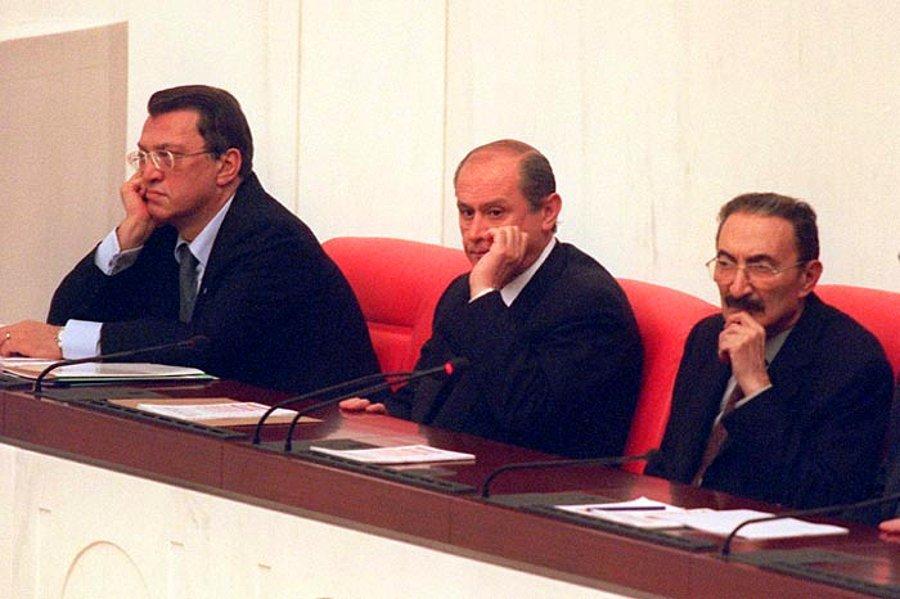 Devlet Bahçeli, Mesut Yılmaz ve Bülent Ecevit ile ilgili görsel sonucu