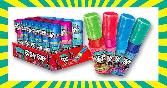 20. Push Pop şeker