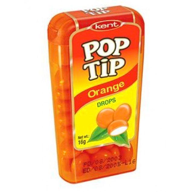 37. Pop Tip şeker