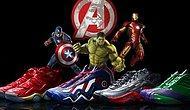 Avengers Adına Üretilen Özel Ayakkabılar..