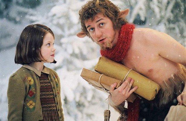 2. Narnia'da bir çok mitolojik yaratık vardır.
