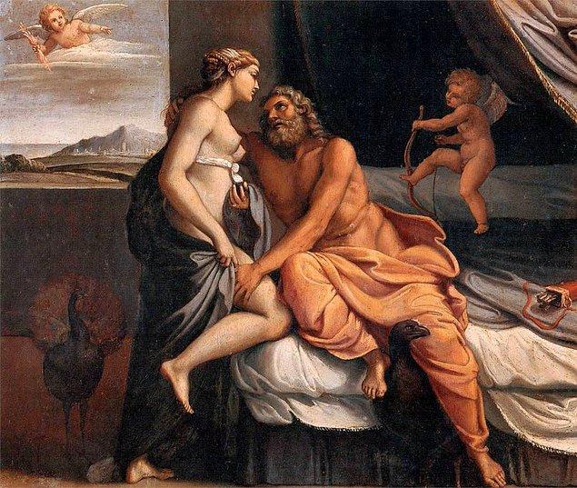 4. Robert Baratheon & Cercei Lanister: Zeus & Hera