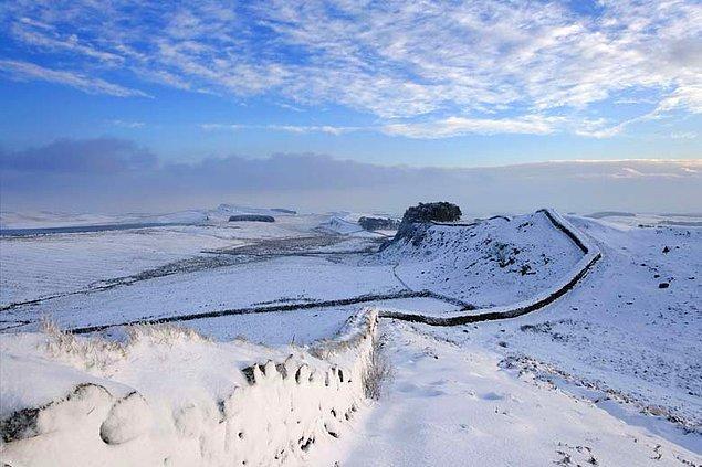 7. Kuzey Duvarı: Britanya'daki Hadrian Duvarı