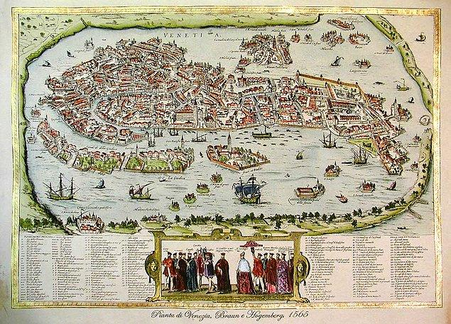 11. Braavos: Venedik
