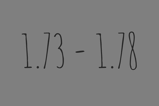 1.73 - 1.78 Arasındasın!