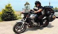 68'inde Motosikletle Almanya Turu Yaptı