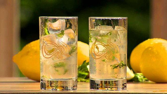 2. Naneli Limon Şerbeti