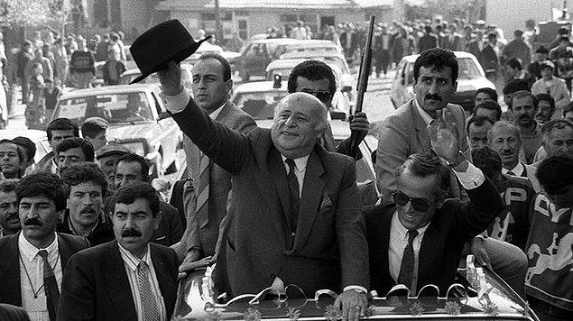 Demirel'in aktif siyaset hayatı 38 yıl sürdü
