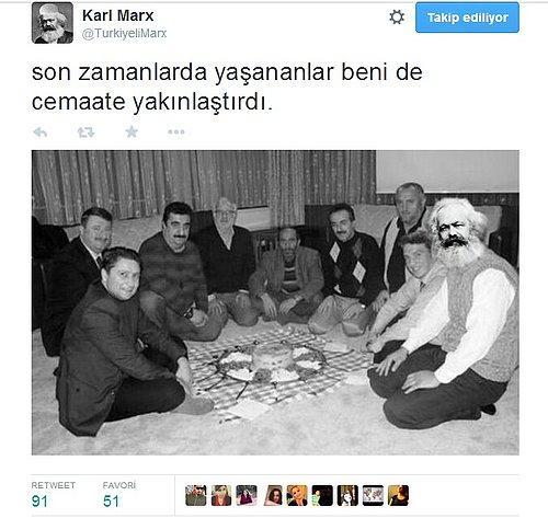 Karl Marxın Parodi Twitter Temsilcisinden Efsane 18 Tweet Onediocom