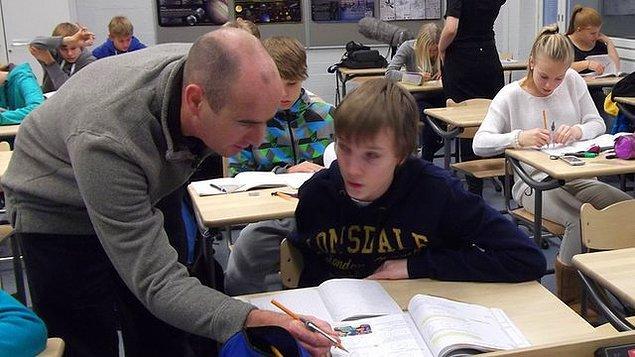 4. Finlandiya'da öğretmenlerin üzerinde müfettiş, denetleme gibi baskı unsurları yok.