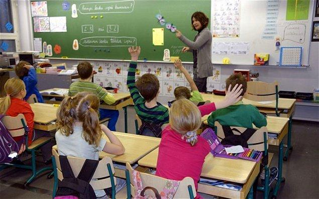9. Öğretmenlerin hepsi master derecesine sahip.