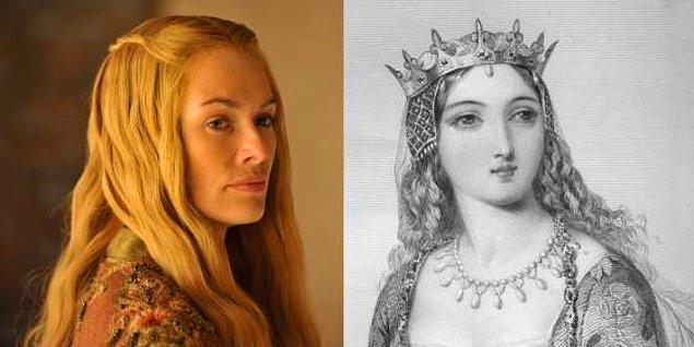 1. Anjou'lu Margaret / Cersei Lannister