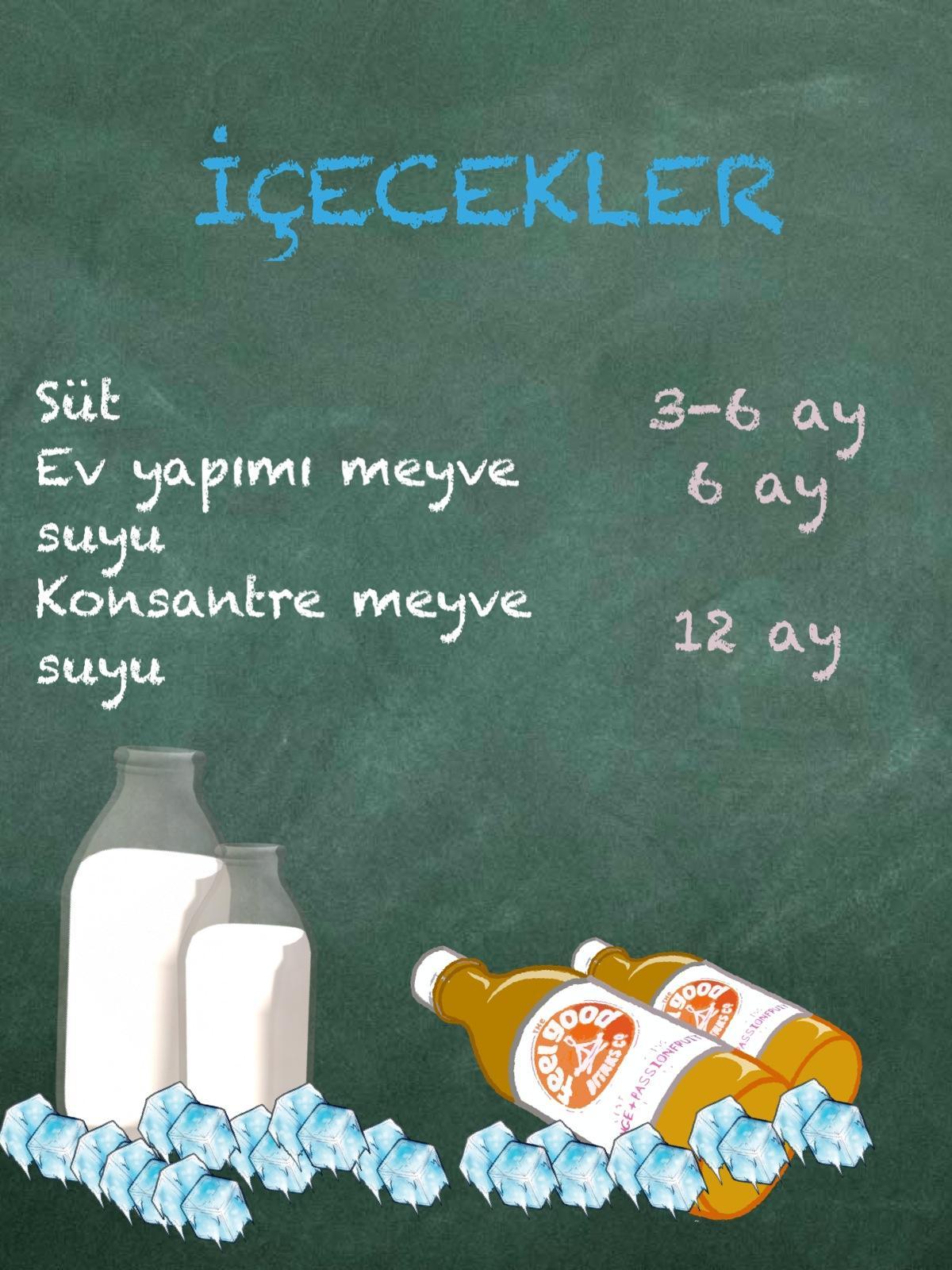 Aklınıza Gelebilecek Hemen Her Tür Gıdanın Bozulmadan Buzlukta Muhafaza Edilebileceği Maksimum Süreler 36