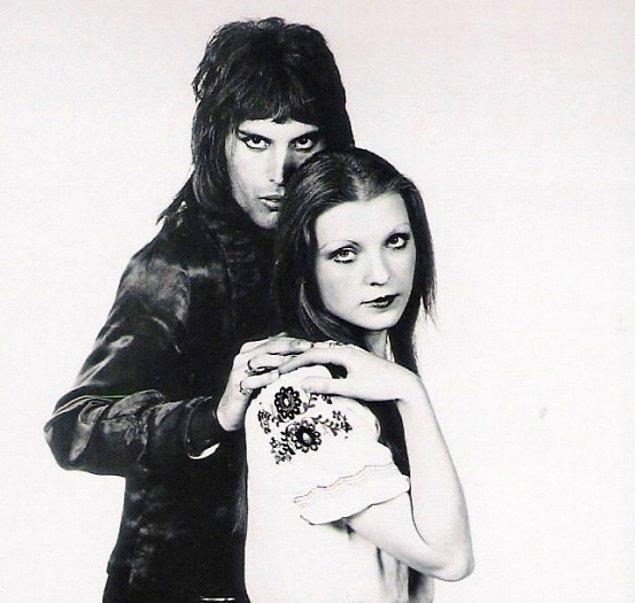 5. Freddie Mercury ve Mary Austin