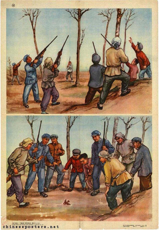 6. Ülkedeki işçilerin yarısı seferberlikte yer alırken, atış ekipleri kuruldu.