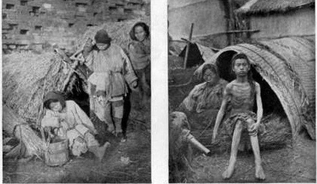 13. Büyük kıtlık boyunca en az 20 milyon kişi açlıktan hayatını kaybetti.
