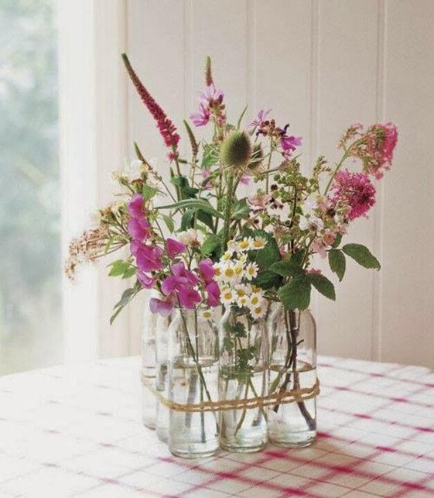 Декор своими руками ваза с цветами