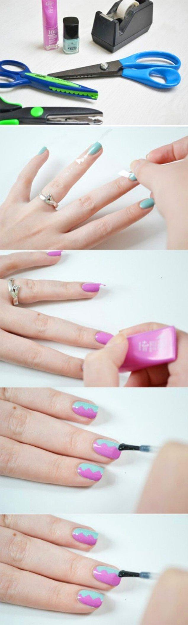 12. ''Yok ben daha renkli şeylerden hoşlanıyorum'' diyenler, aynı deseni farklı renk bloklarıyla kullanabilir.