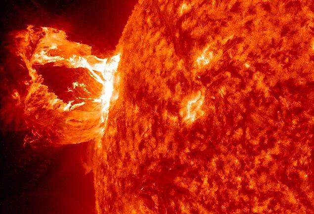 3. Güneş Sayısız Parçalara Ayrılırdı
