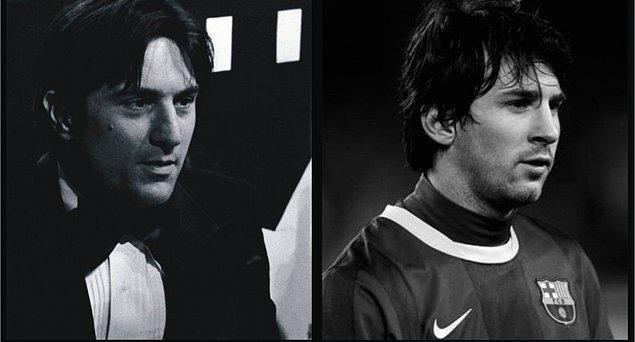 17. Bonus: Robert de Niro & Leo Messi