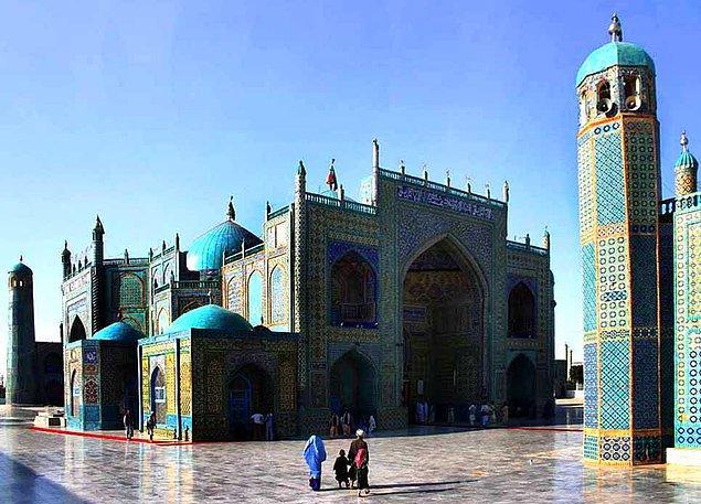 17. Hz. Ali Camii (Mezar-ı Şerif), Belh, Afganistan