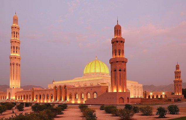 34. Sultan Kâbus Camii, Maskat, Umman