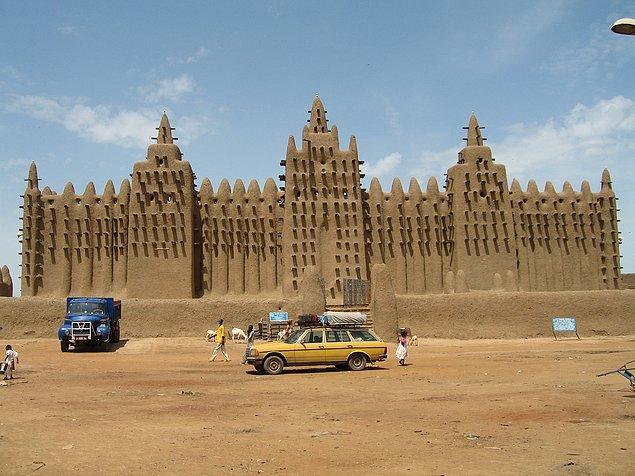 50. Cenne Büyük Camii, Cenne, Mali