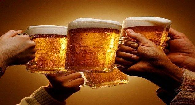 13. Alkol'ün beyin hücrelerine zararı yok.