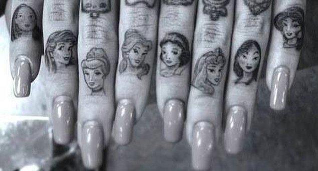 BONUS: Tüm prensesler!