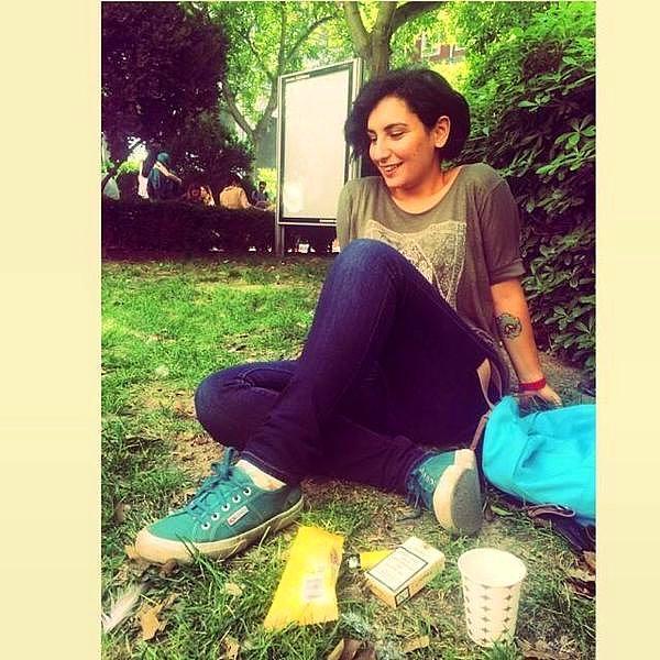 20 yaşındaki Mimar Sinan Güzel Sanatlar Fakültesi öğrencisi Hatice Ezgi Sadet
