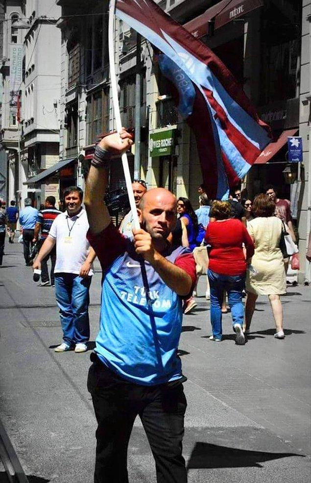 10. Devrimci Trabzonsporlu Koray Çapoğlu