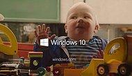 Microsoft'dan Çocuk Temalı İlk Windows 10 Reklamı