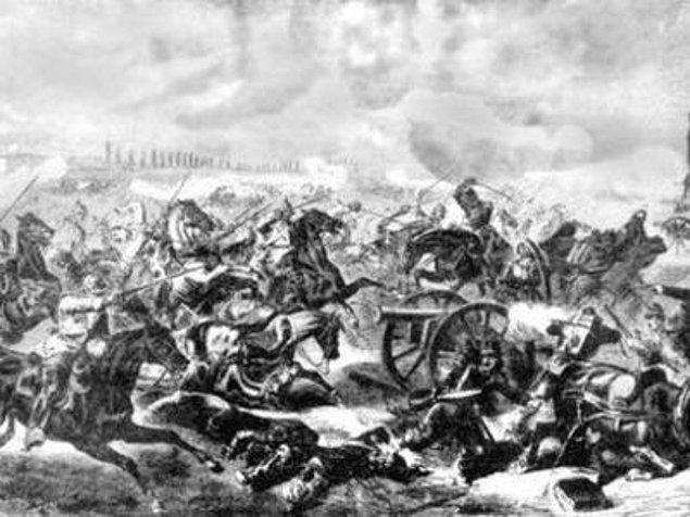 """9. Çatışma sırasında bazı piyadeler, Hussarları korkutmak için """"Turciii! Turciii!"""" diye bağırır."""