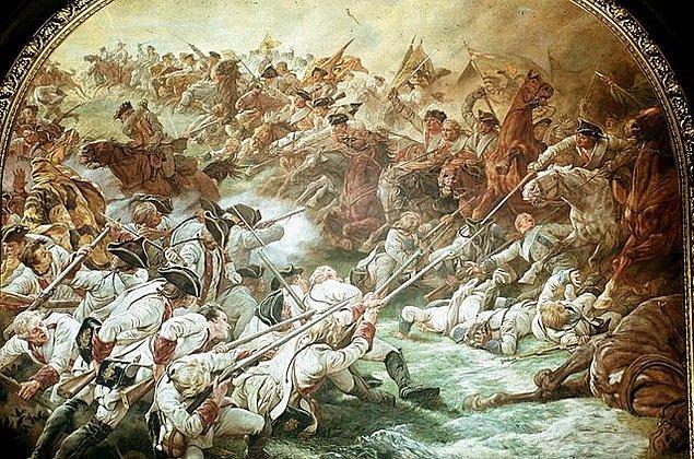 8. Böylece Hussarlar ve piyadeler arasında çatışma başlamış olur.
