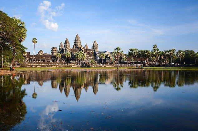 3. Angkor Vat; Angkor, Kamboçya