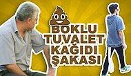 Türkiye'de Boklu Tuvalet Kağıdı İle Gezme Şakası