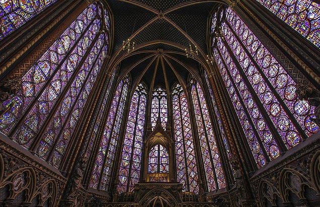 29. Sainte Şapeli; Paris, Fransa