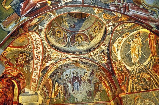 32. Göreme Kiliseleri; Türkiye