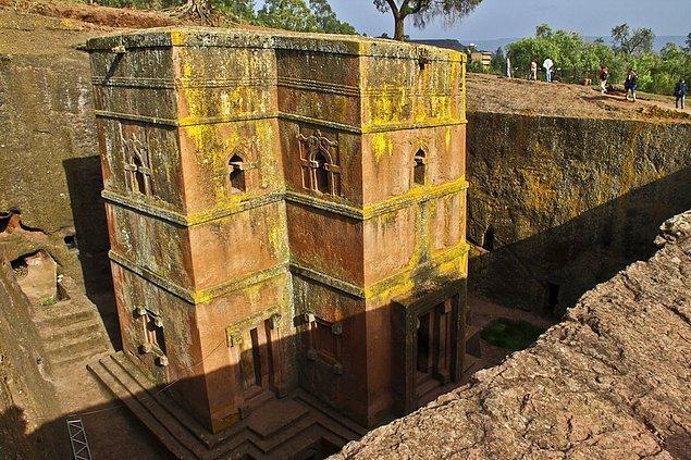 35. Saint George Kilisesi; Lalibela, Etiyopya