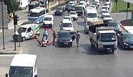 Bursa'da Trafik Işıklarında Pompalı Dehşet