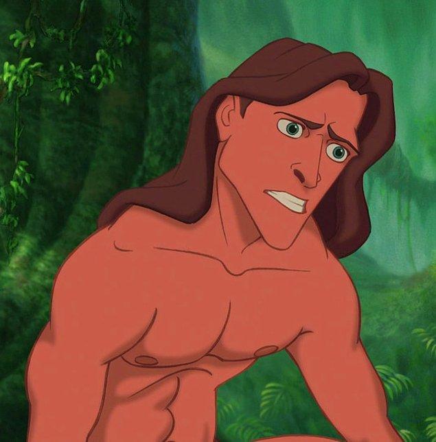 Vahşi aşık Tarzan'dan...