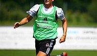 Beşiktaş'ta Mario Gomez, Takımı ile İlk İdmanına Çıktı