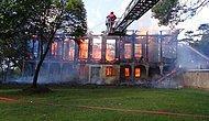 Şüpheli Bir Yangınla Kül Olan Hüseyin Avni Paşa Köşkü'nün Korusunda İş Makineleri