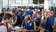 Fenerbahçe Kafilesi Lviv'de