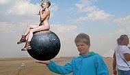 """""""Oğlumun Avucuna Piramidi Yerleştirir misiniz"""" Diyen Babaya Photoshop Trollerinin Cevabı"""