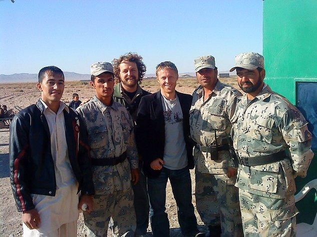 Gunnar Afganistan-İran sınırında.