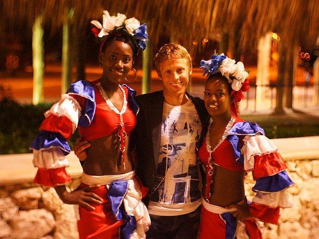 Dominik Cumhuriyeti, Punta Cana'da sıcak bir karşılama.